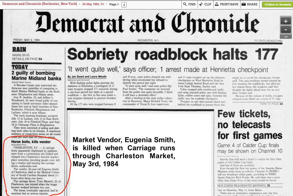 FATALITIES | The Partnership to Ban Horse Carriages